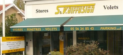 Service commercial / Show room SV Diffusion