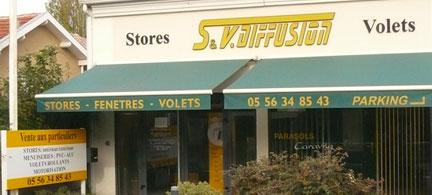 SV Diffusion stores bordeaux