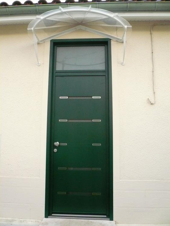 porte d'entrée K-LINE modèle TAO avec imposte