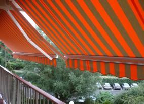 Store banne loggia de balcon en gironde