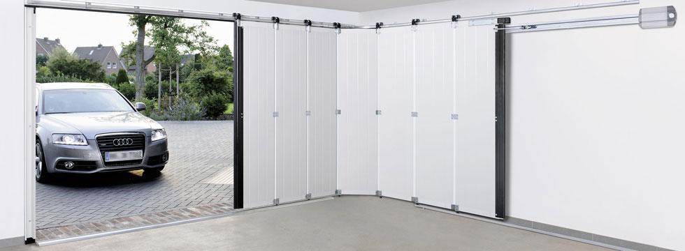 Porte de garage sectionnelle latérale talence